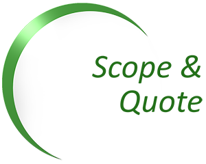 Energy Audit - Scope and Quote Logo - Green Arc
