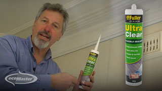 The Recommended Fullers UltraClear Water-based Sealant
