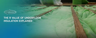 The R Value of Underfloor Polyester Insulation