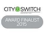 City Switch Award Finalist 2015 logo - Retrofit Solutions