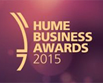 Hume Business Awards 2015 logo - Award Winners with Retrofit Solutions
