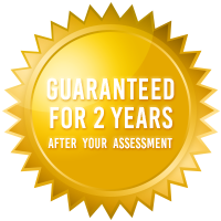 ecoMaster 2 Years Guarantee after Assessment Gold Badge
