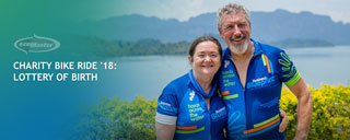 ecoMaster's Lyn and Maurice Beinat in Thailand for the Charity Bike Ride