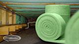 Polyester Rolls under floor