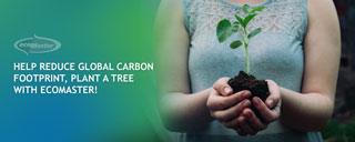 Reduce Global Carbon Footprint. Plant A Tree with ecoMaster