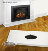 Solutions for retrofitting the home: Draught proof Your Chimney and Fireplace